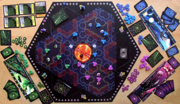 Exile Sun - game in progress