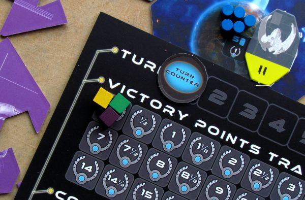 Exodus: Proxima Centauri - připravená hra