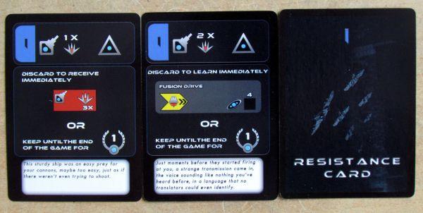 Exodus: Proxima Centauri - karty