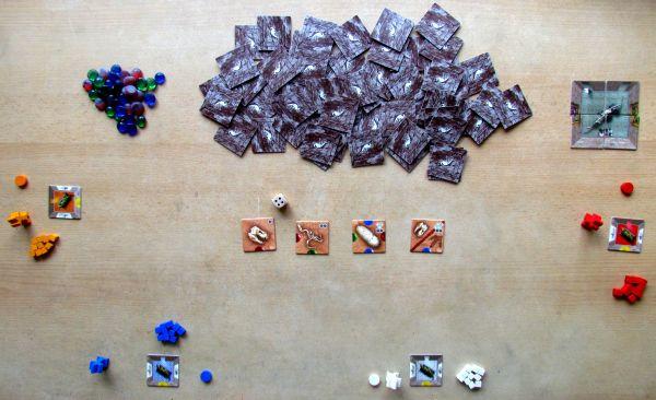 Exposaurus- připravená hra