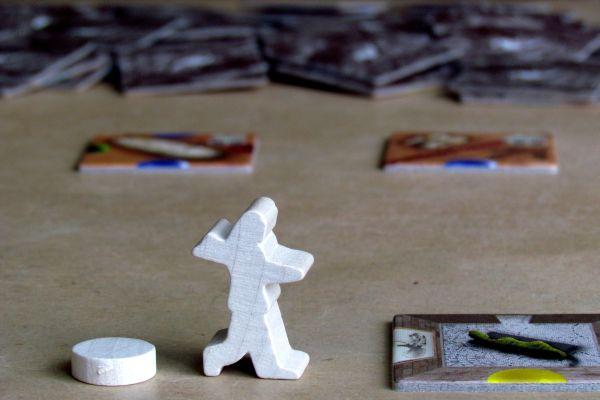Exposaurus - připravená hra