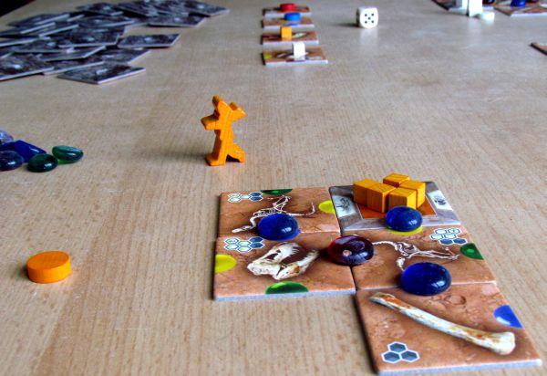 Exposaurus- rozehraná hra