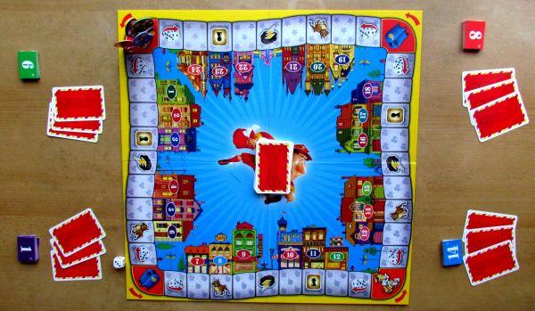 Expres Pošťák - připravená hra