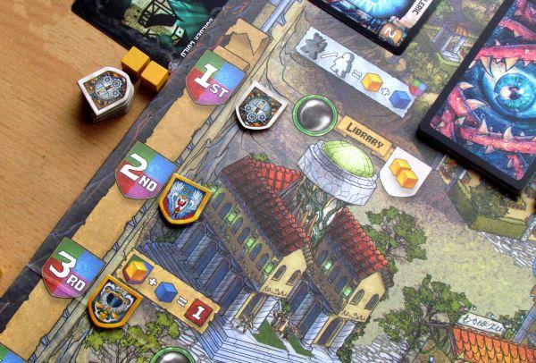 Fallen City of Karez - připravená hra