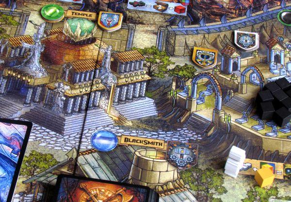 Fallen City of Karez - rozehraná hra