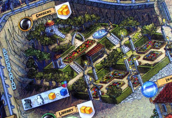 Fallen City of Karez - detail herního plánu