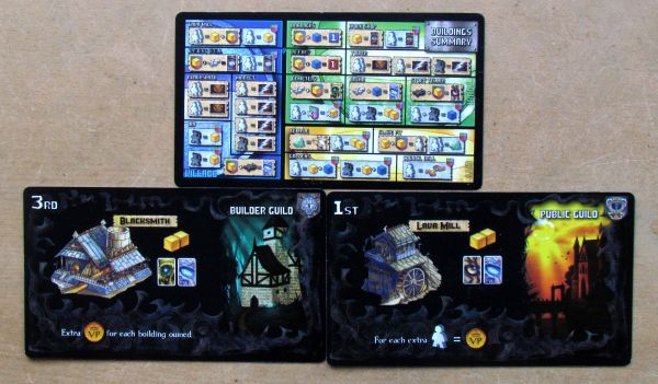 Board game review: Fallen City of Karez - cards