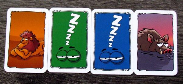 Faulpelz - karty