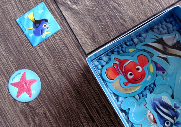 Finding Nemo Aquarium - připravená hra