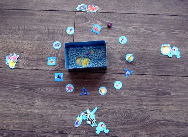 Finding Nemo Aquarium - rozehraná hra