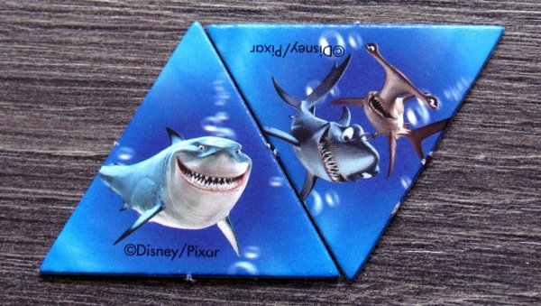 Finding Nemo Aquarium - žetony