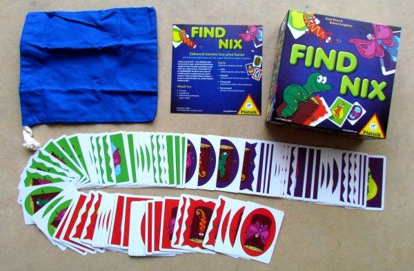Findnix - balení