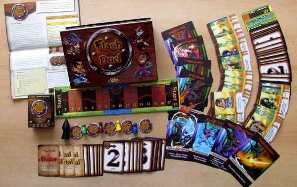 Photo: Flash Duel - packaging