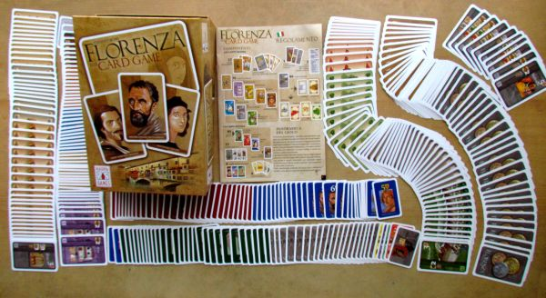 Florenza: The Card Game - packaging