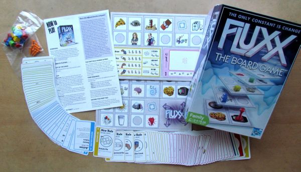 Fluxx: The Board Game - balení