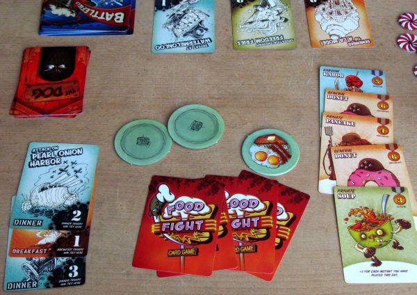 Food Fight - rozehraná hra