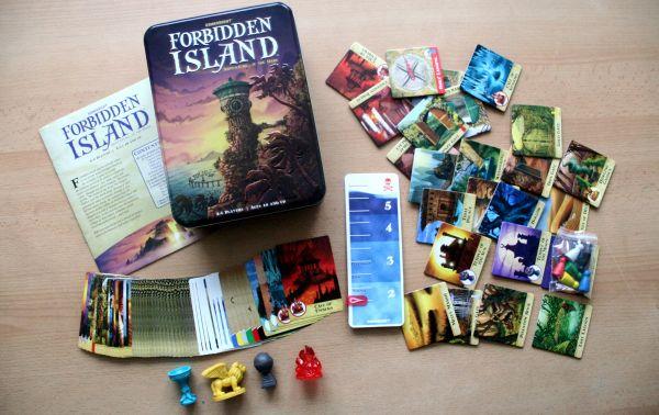 Zakázaný ostrov - balení