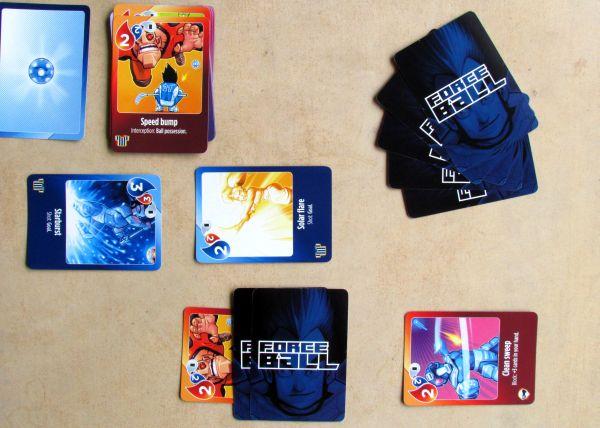 ForceBall - rozehraná hra