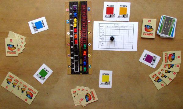 Formula Motor Racing - rozehraná hra