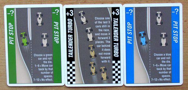 Formula Motor Racing - cards