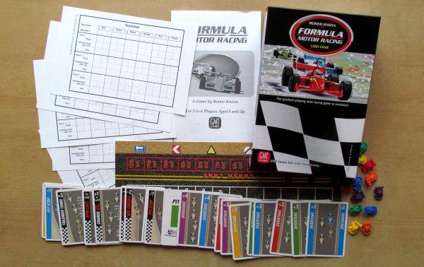 Formula Motor Racing - packaging