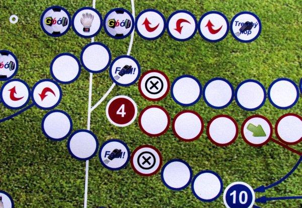 Fotbálek Pro Turnaje - detail herního plánu