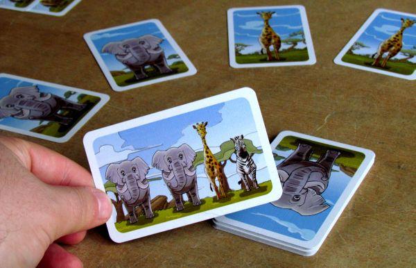 Kleine Fotosafari - rozehraná hra