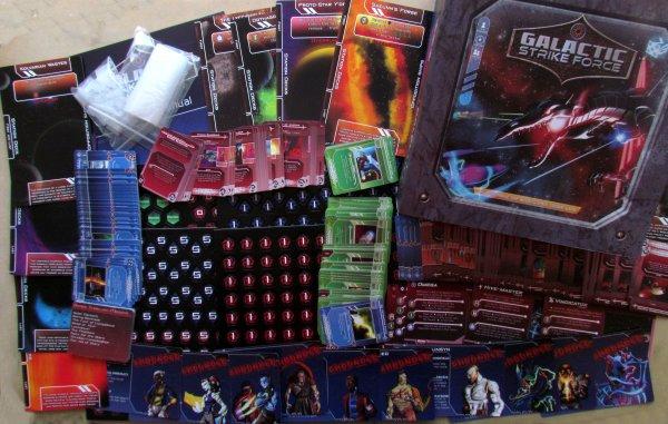 Galactic Strike Force - balení