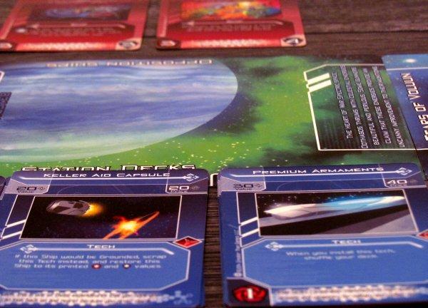 Galactic Strike Force - připravená hra