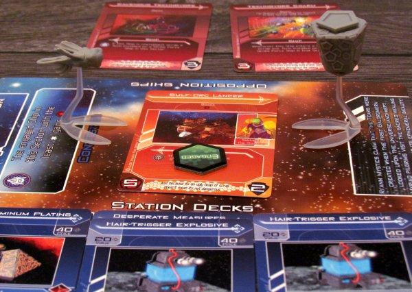 Galactic Strike Force - game in progress