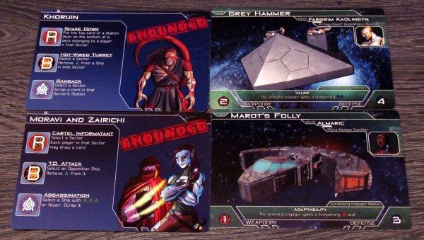 Galactic Strike Force - karty