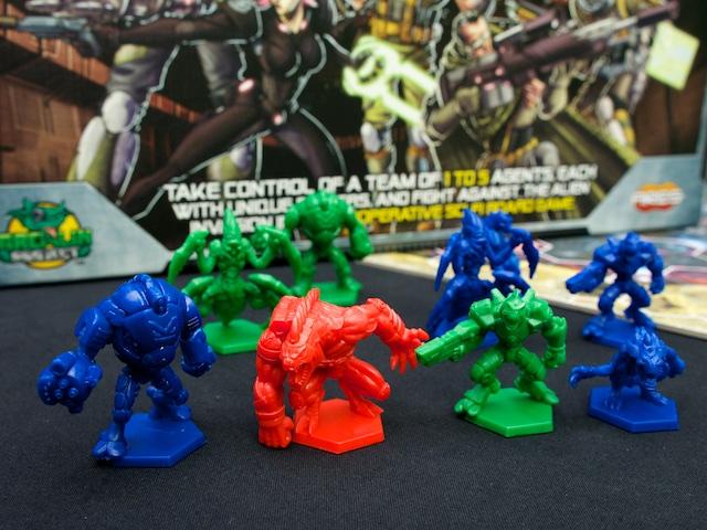 Galaxy Defenders - figurky