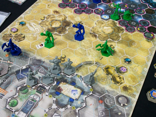 Galaxy Defenders - rozehraná hra