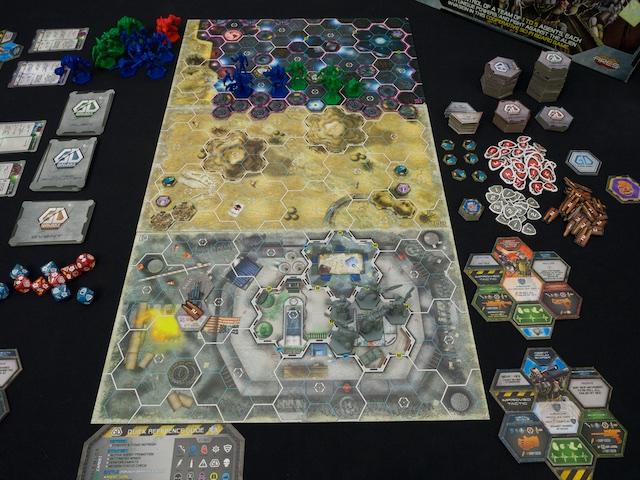 Galaxy Defenders - připravená hra