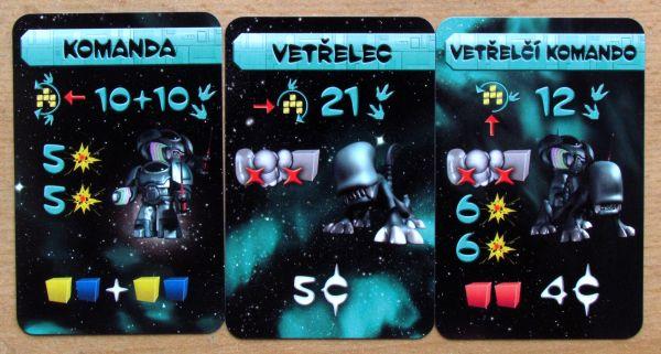 Galaxy Trucker: Další velké rozšíření - karty