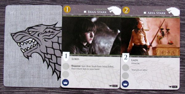 A Game of Thrones: Card Game HBO - cards