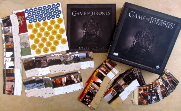 A Game of Thrones: Card Game HBO - packaging