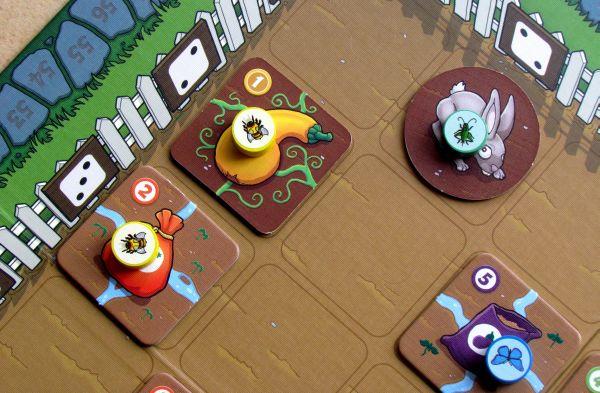Garden Dice - rozehraná hra