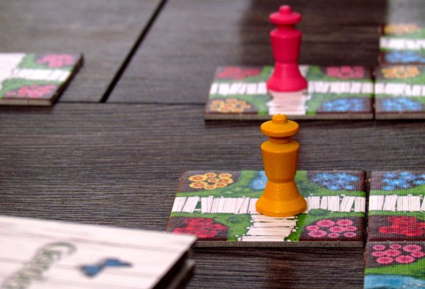 Gardens - game in progress