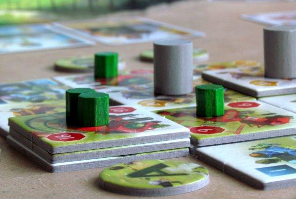 Ginkgopolis - rozehraná hra