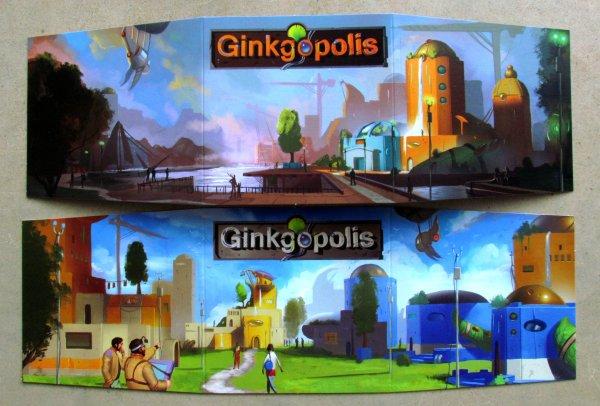 Ginkgopolis - zástěny