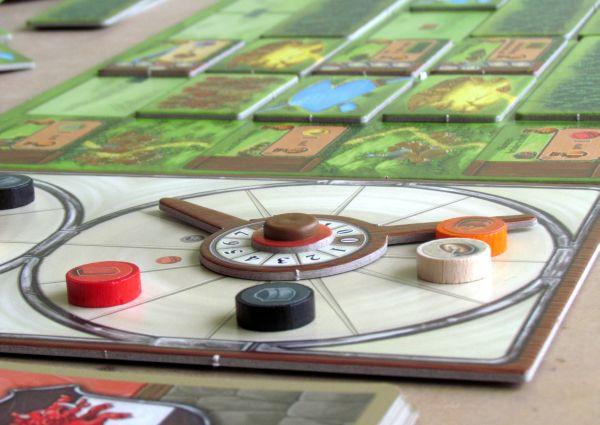 Glass Road - rozehraná hra