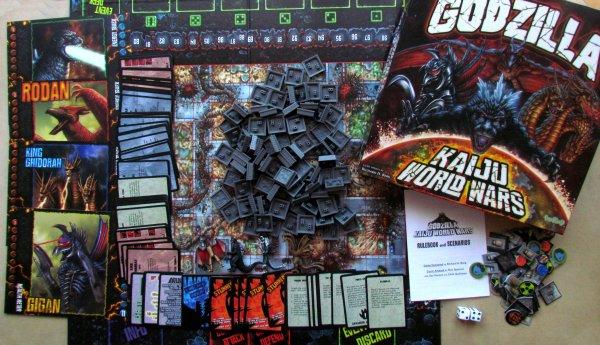 Godzilla: Kaiju World Wars - balení