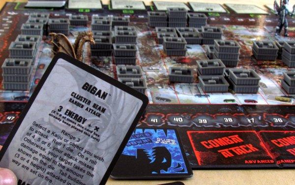 Godzilla: Kaiju World Wars - připravená hra