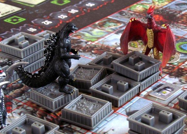 Godzilla: Kaiju World Wars - rozehraná hra