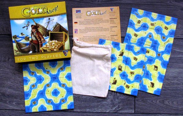 Gold Ahoy! - packaging