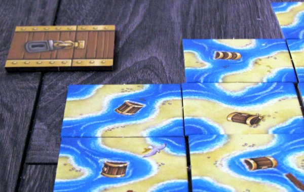 Gold Ahoy! - game in progress