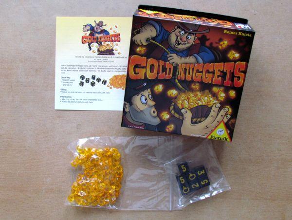 Gold Nuggets - balení