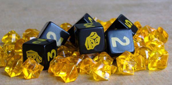 Gold Nuggets - připravená hra