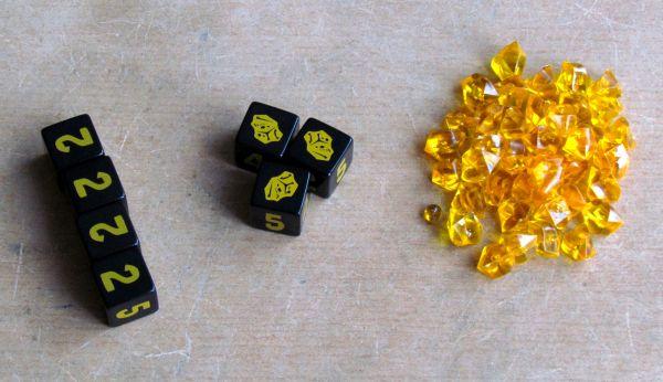 Gold Nuggets - rozehraná hra